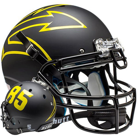 Arizona State Sun Devils Black 85 Schutt XP Authentic Football Helmet