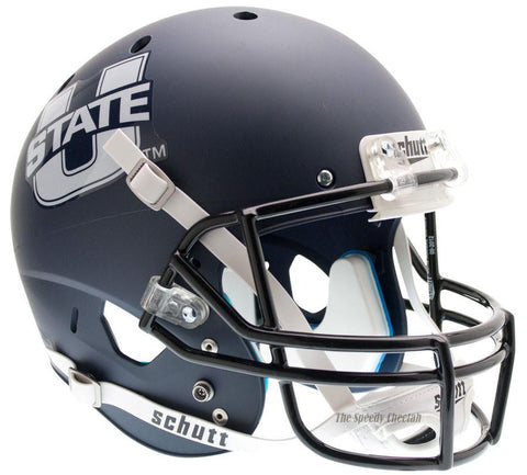 Utah State Aggies Navy Schutt XP Replica Football Helmet