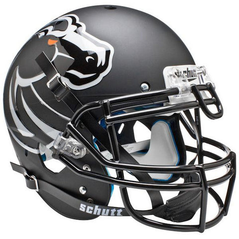 Boise State Broncos Black Schutt XP Authentic Football Helmet