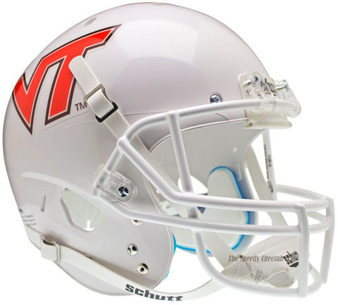 Virginia Tech Hokies Solid White Schutt XP Replica Football Helmet