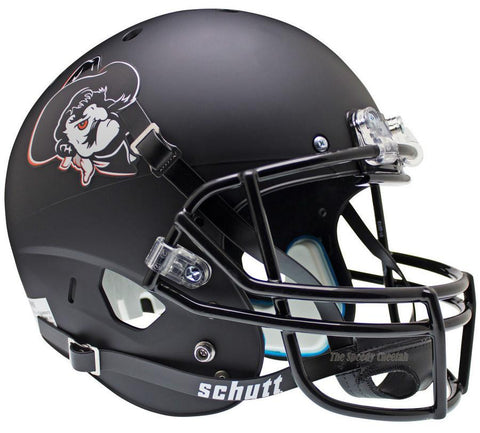 Oklahoma State Cowboys Pistol Pete Black Schutt XP Authentic Helmet