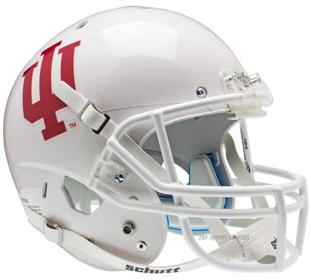Indiana Hoosiers White Schutt XP Full Size Replica Football Helmet