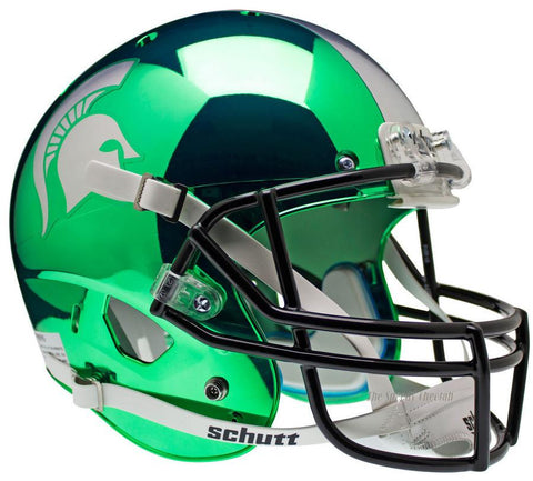 Michigan State Spartans Chrome Schutt XP Replica Football Helmet