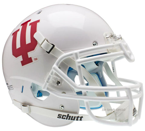 Indiana Hoosiers White Schutt XP Authentic Football Helmet
