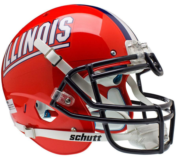 Illinois Fighting Illini Schutt XP Authentic NCAA Football Helmet