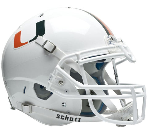 Miami Hurricanes Schutt XP Authentic Football Helmet