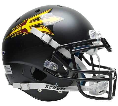 Arizona State Sun Devils Black Schutt XP Authentic Football Helmet