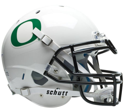 Oregon Ducks White Schutt XP Authentic Football Helmet