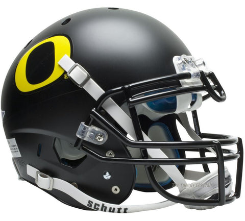 Oregon Ducks Black Schutt XP Authentic Football Helmet