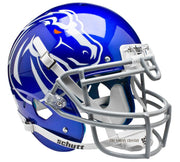 Boise State Broncos Blue Schutt XP Authentic NCAA Football Helmet