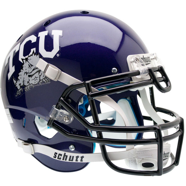 TCU Horned Frogs Schutt XP Authentic Football Helmet