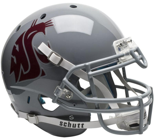 Washington State Cougars Scarlet Schutt XP Authentic NCAA Football Helmet