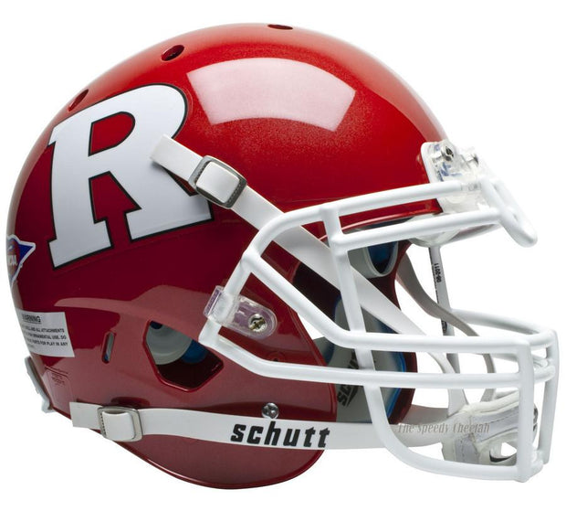 Rutgers Scarlet Knights Schutt XP Authentic NCAA Football Helmet