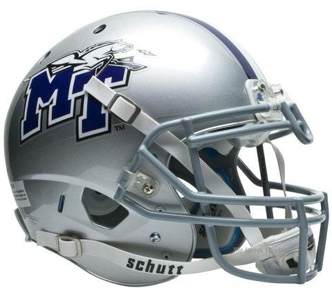 Middle Tennessee State Raiders Schutt XP Authentic NCAA Football Helmet