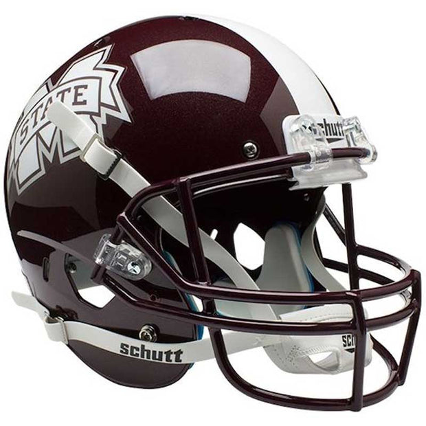 Mississippi State Bulldogs Matte Schutt XP Replica Football Helmet