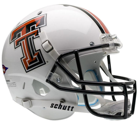 Texas Tech Red Raiders White Schutt XP Replica Football Helmet