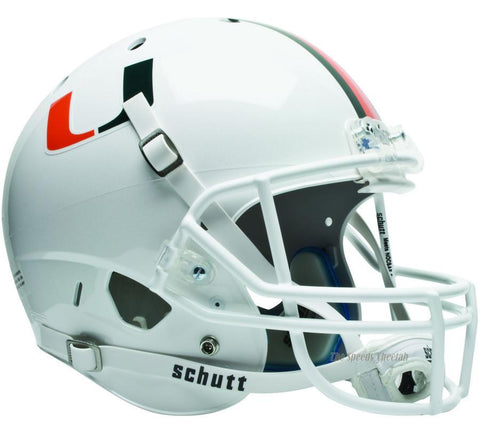 Miami Hurricanes Schutt XP Full Size Replica Football Helmet