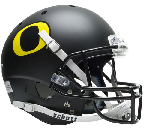 Oregon Ducks Black Schutt XP Replica Football Helmet