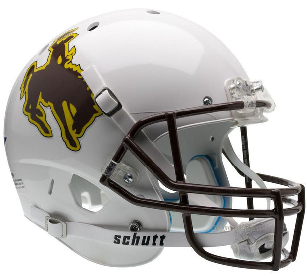 Wyoming Cowboys Schutt XP Full Size Replica Football Helmet