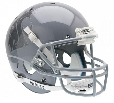 Washington State Cougars Grey Schutt XP Full Size Replica Football Helmet