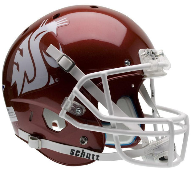 WSU Cougars Scarlet Schutt XP Authentic Football Helmet
