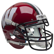 Wisconsin Badgers Red Black Grill Schutt XP Authentic Football Helmet