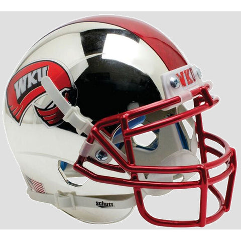 Western Kentucky Hilltoppers Chrome ALT Schutt XP Replica Football Helmet