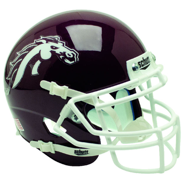 Western Michigan Broncos Brown Schutt XP Replica Football Helmet
