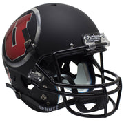 Utah Utes Alt 7 Chrome Decal Schutt XP Replica Football Helmet