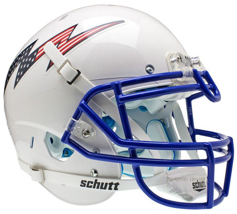 Air Force Falcons Flag Bolt Schutt XP Authentic Football Helmet