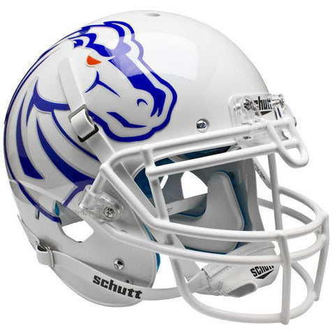Boise State Broncos White Schutt XP Authentic Football Helmet