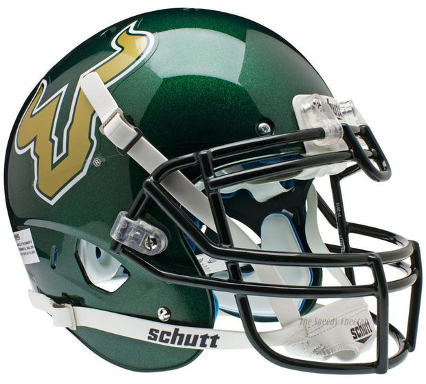 South Florida Bulls Green Schutt XP Authentic NCAA Football Helmet