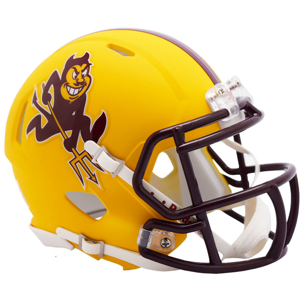 ASU Sun Devils Sparky Riddell Speed Mini Football Helmet
