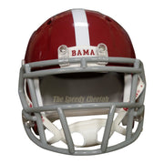 Alabama Crimson Tide #17 Riddell Speed Mini Football Helmet