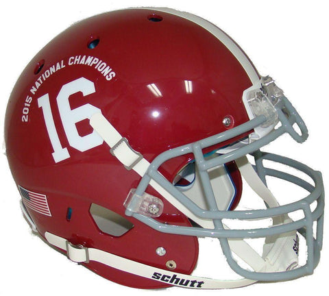 Alabama Crimson Tide 2015-16 National Champs Schutt XP Authentic Football Helmet