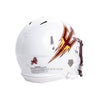 Arizona State Sun Devils White Riddell Revolution Speed Authentic Football Helmet