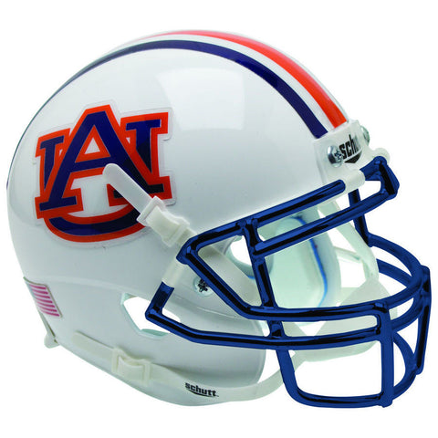 Auburn Tigers Chrome Mask Schutt XP Replica Football Helmet