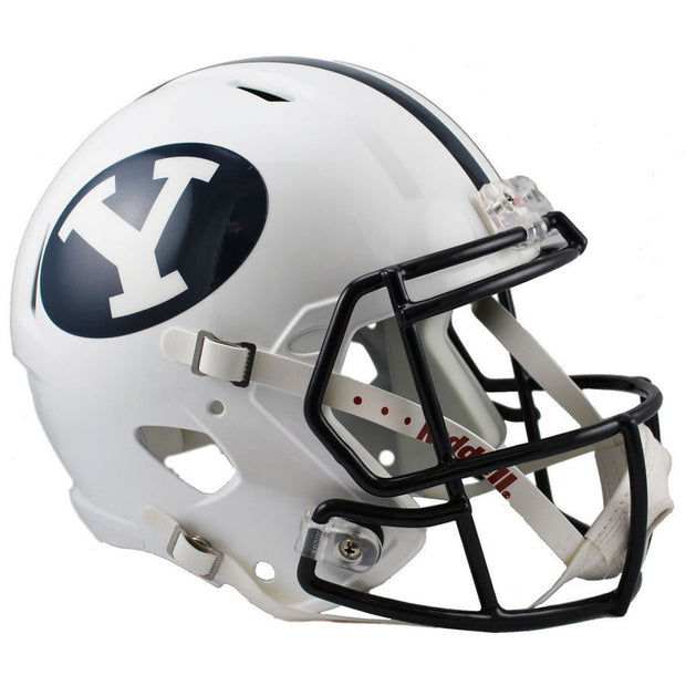 BYU Cougars Riddell Speed Full Size Replica Football Helmet