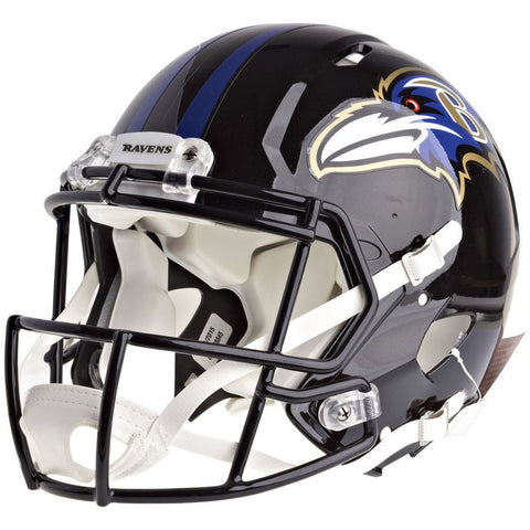Baltimore Ravens Riddell Revolution Speed Authentic Football Helmet