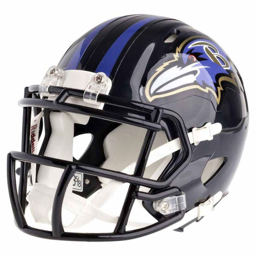 de28a336846 Baltimore Ravens Riddell Speed Mini Football Helmet ...
