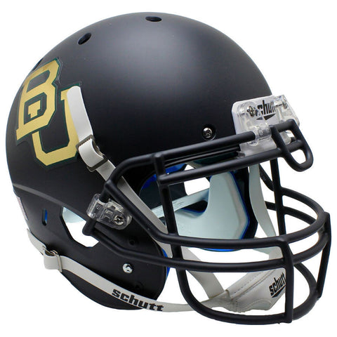 Baylor Bears Black Chrome Decal Schutt XP Authentic Football Helmet