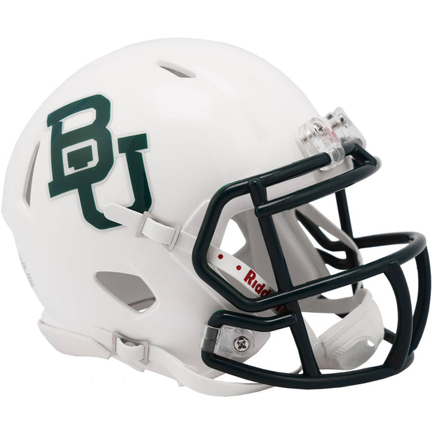 Baylor Bears White Riddell Speed Mini Football Helmet