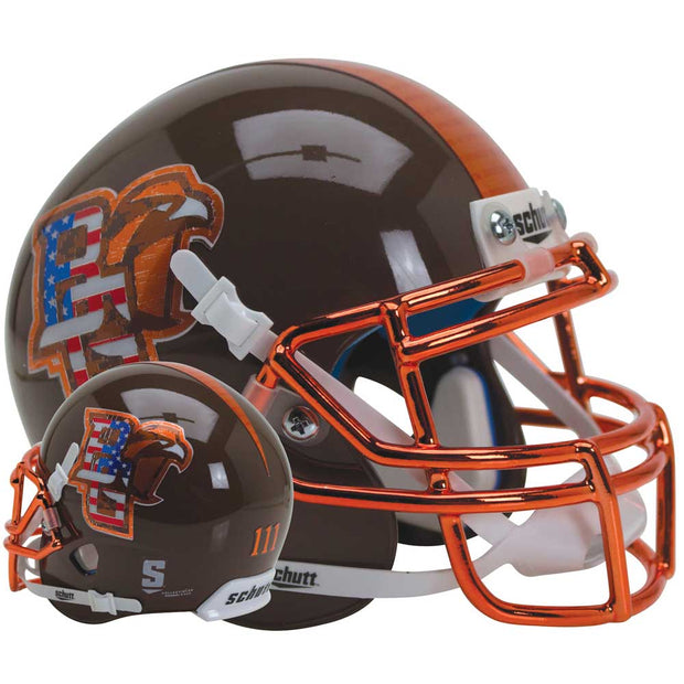 Bowling Green Falcons Patriot Schutt XP Authentic Football Helmet