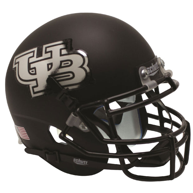 Buffalo Bulls Black UB Schutt XP Authentic Football Helmet