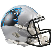 Carolina Panthers Riddell Revolution Speed Authentic Football Helmet