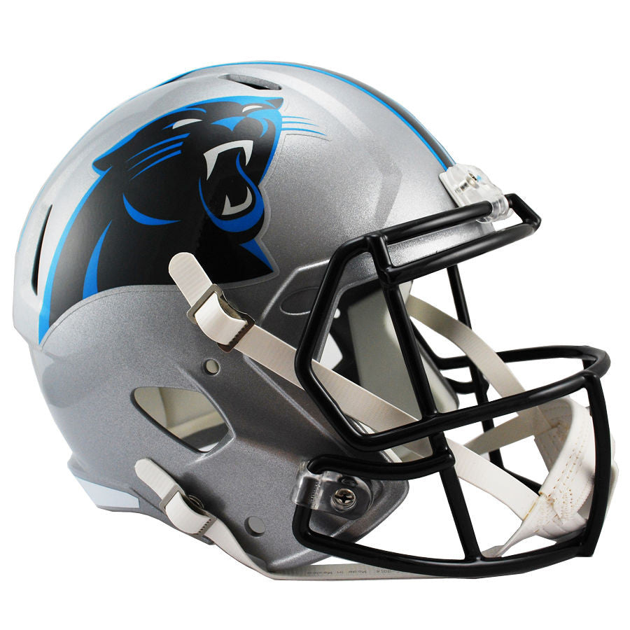 4d13ffa1f Carolina Panthers Riddell Speed Full Size Replica Football Helmet ...