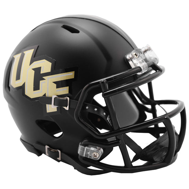 Central Florida Gold Knights Anthracite Riddell Speed Mini Football Helmet