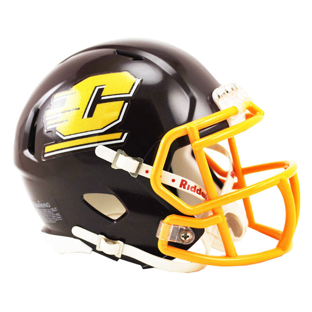 Central Michigan Chippewas Riddell Speed Mini Football Helmet