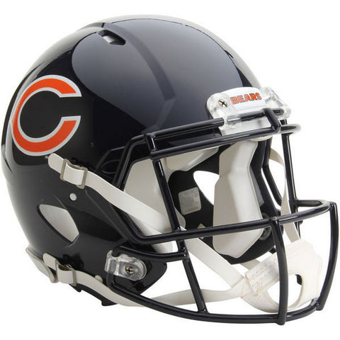 Chicago Bears Riddell Revolution Speed Authentic Football Helmet