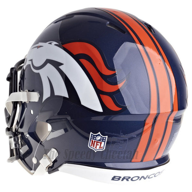 Denver Broncos Riddell Revolution Speed Authentic Football Helmet